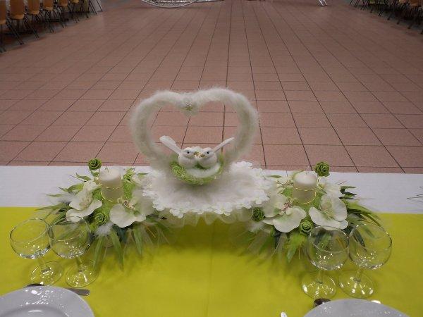 La Décoration de la salle au mariage de ma fille - les ptites mains ...