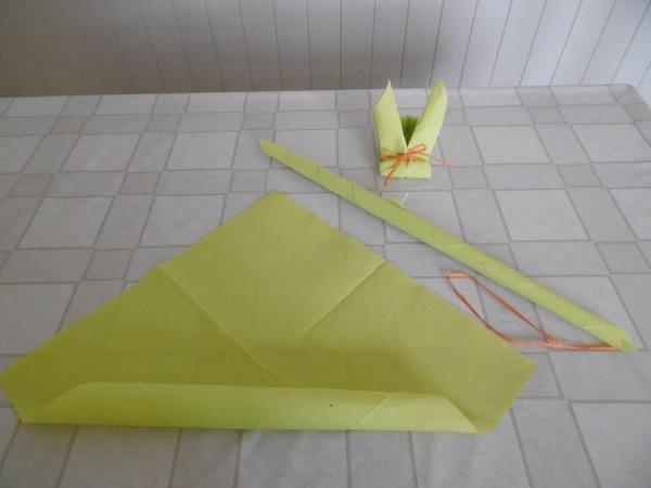 Pliage De Serviette En Papier En Forme De Lapin Les P 39 Tites Mains Bricoleuses