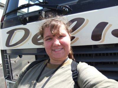 moi H�l�ne foto pendant mon stage chez delisle au moi de juin 2011 ...