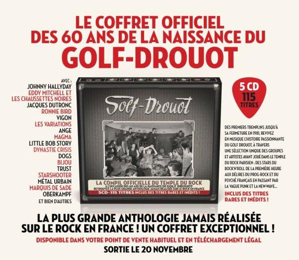 Coffret du Golf Drouot & Livre (60 ans Rock And Roll)
