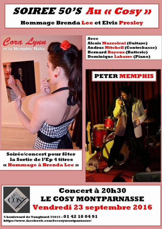 Cora Lynn et Peter Memphis & La Memphis Mafia.