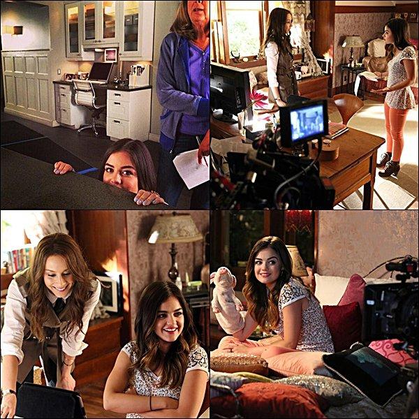 . Découvrez les stills de l'épisode 05x10 de Pretty Little Liars intitulé A Dark Ali, ainsi que les photos du BTS .