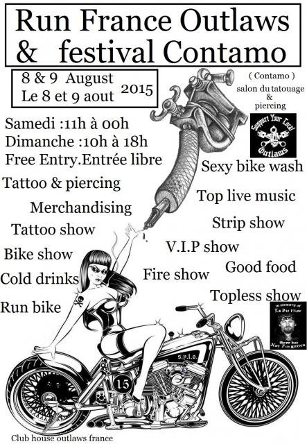 fêtes outlaws europe 2015