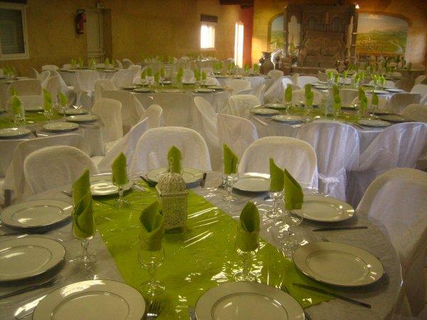 Deco de mariage vert robeslocation84000 - Deco campagneidees pour un decor charmant ...