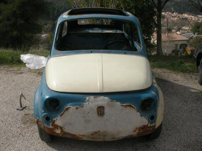 fiat 500 f 1967 a restaurer et a vendre fiat 500 f 1967 a vendre dans le 06 nice. Black Bedroom Furniture Sets. Home Design Ideas