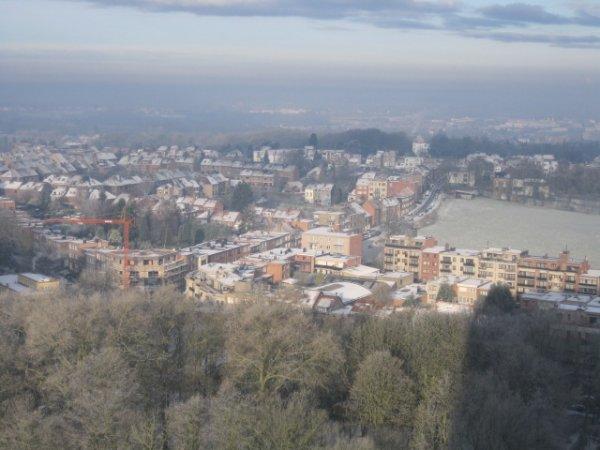 Vues panoramiques & hivernales de chez moi ...