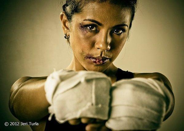 Pour ou contre la boxe f�minine ?