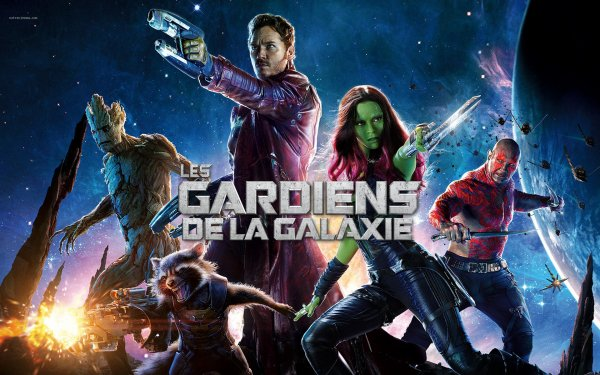 Les Gardiens de la Galaxie.
