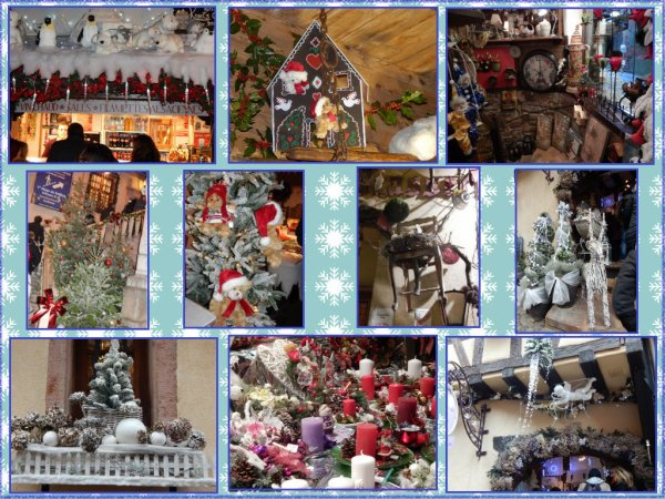 Mon weekend en alsace d couverte des march s de no l au for Decoration de noel en alsace