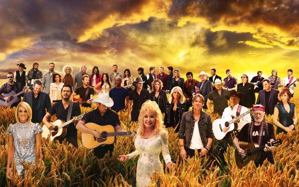 30 artistes r�unis sur cette vid�o � l'occasion du 50 �me anniversaire du CMA AWARDS . La plus grande vid�o r�alis�e de l'histoire de la musique country .