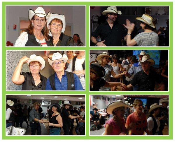 Un weekend entre amies avec la country bien sur !!! Premier bal ce samedi dans l'Orne avec mon amie Valou et et ses adhérents à Echauuffour chez ''  Calèch' Country ''