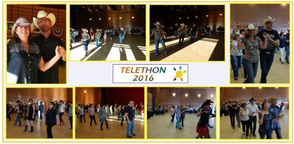 Bal Téléthon à Luisant 28 avec Chartres Country . . . . .  . .  .Dimanche 04 Décembre 2016.