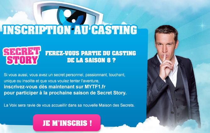 Secret Story 8 - Le casting est ouvert !