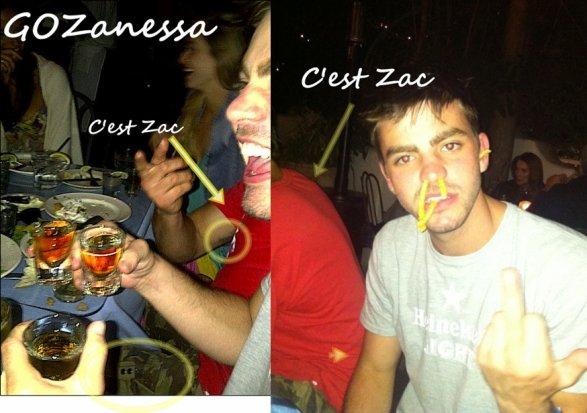 Zac , Zac et Zac !!