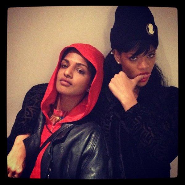 MIA-Rita Ora&Rihanna