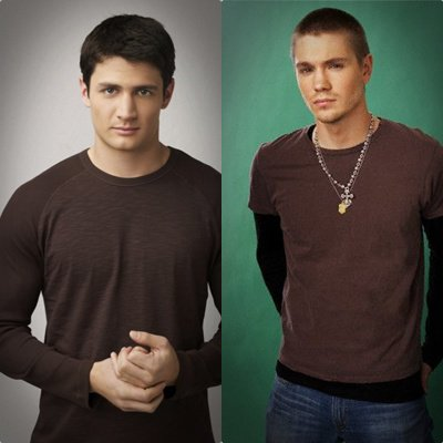 Pics For > Chad Michael Murray And James Lafferty