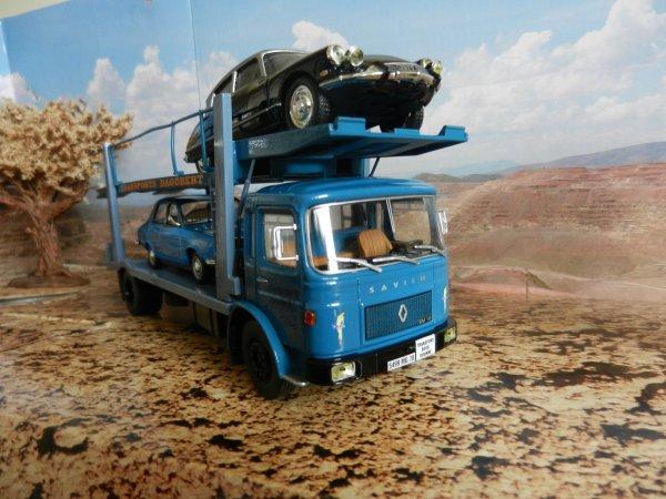 camion saviem sm 10 porte voitures fin de construction. Black Bedroom Furniture Sets. Home Design Ideas