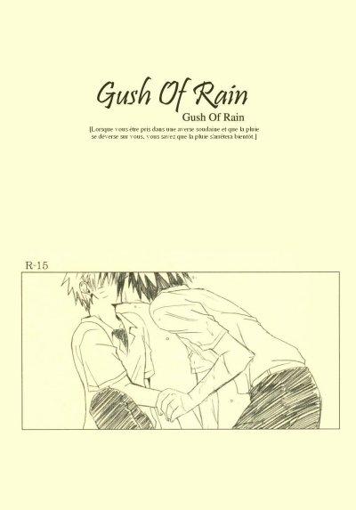 Doujinshi SasuNaru ♥ Ichijin no Ame ♥