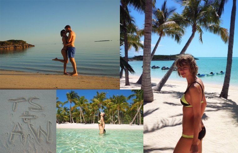 16/03/16 - Photoshoot . Candids . News . Twitter . Magazine. Soir�e . Vid�o . Interview . Concert . Tumblr . Instagram . Taylor a post� des photos de ses vacances avec Calvin Harris. Ils sont trop mignons, vous ne trouvez pas ?
