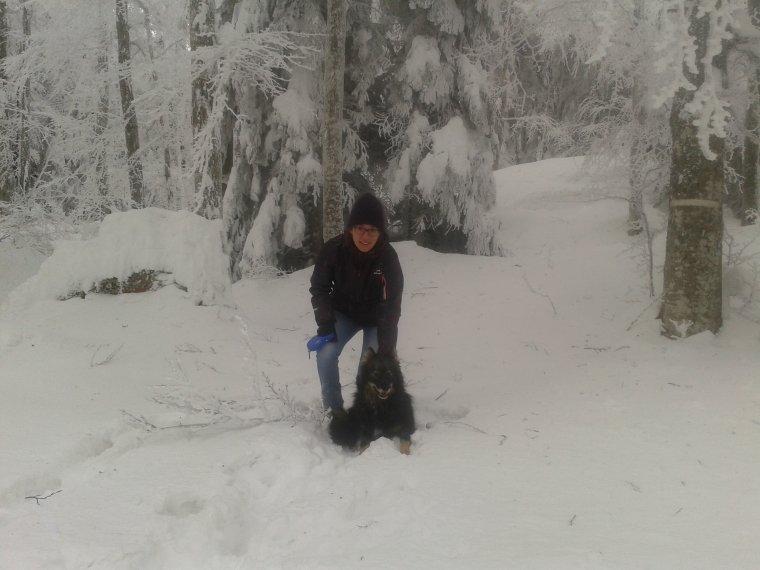 La neige est l� !