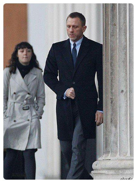 Daniel Craig sur le tournage de � Skyfall � !