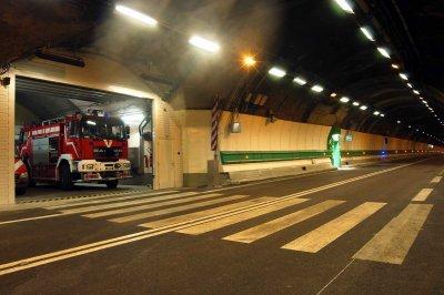 pompiers du tunnel du Mont Blanc