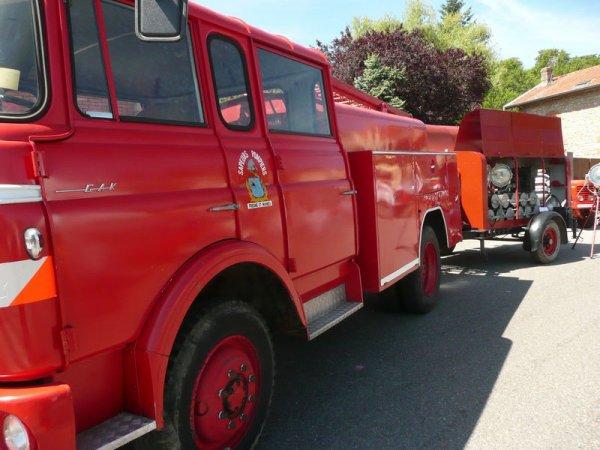 pompiers usine peugeot gak 1967