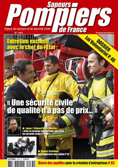 abonnement Sapeur-Pompier magazine