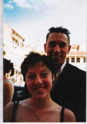 Gabriel et Joannie, parents de Justine