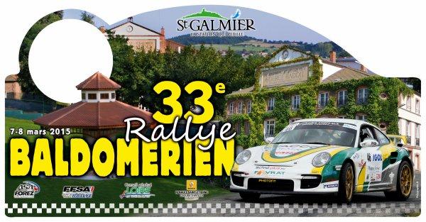 La saison des rallyes 2015 commence par le baldom�rien