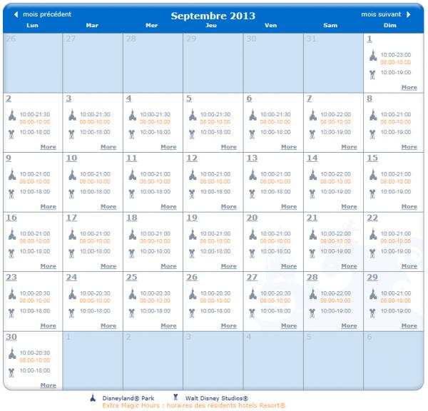 les horaires d 39 ouverture des parcs disneyland et walt disney studios le blog infos disney en