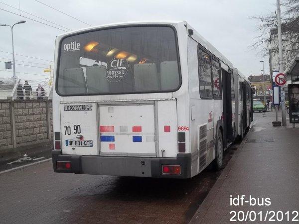 Réseau CIF Groupe Kéolis ligne 15,bus Renault RVI PR118à Aulnay Sous Bois RER Le blog des  # Renault Aulnay Sous Bois