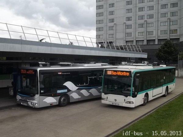 Photos roissyp le rer suite le blog des r seaux bus - Bus 351 paris ...