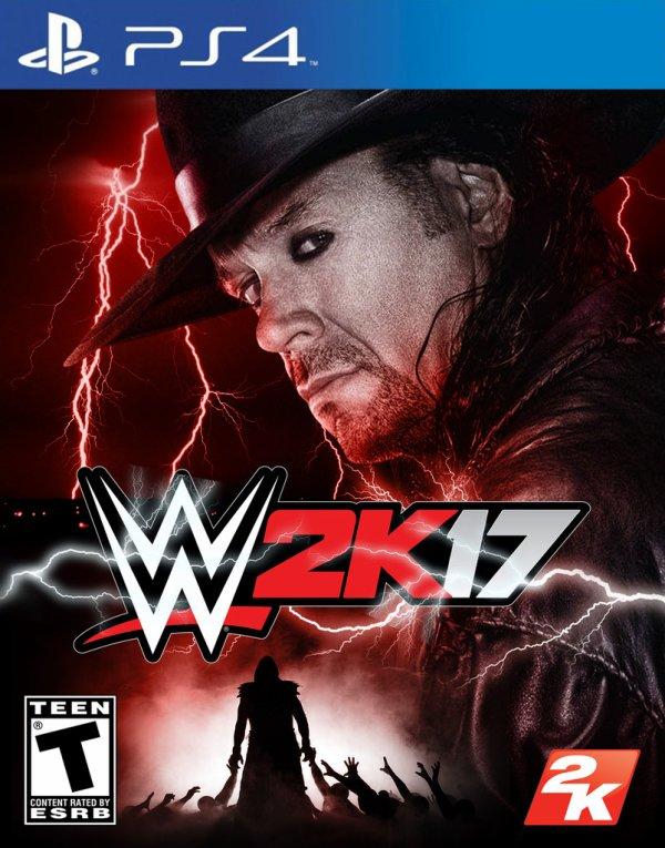 The Undertaker WWE 2K17