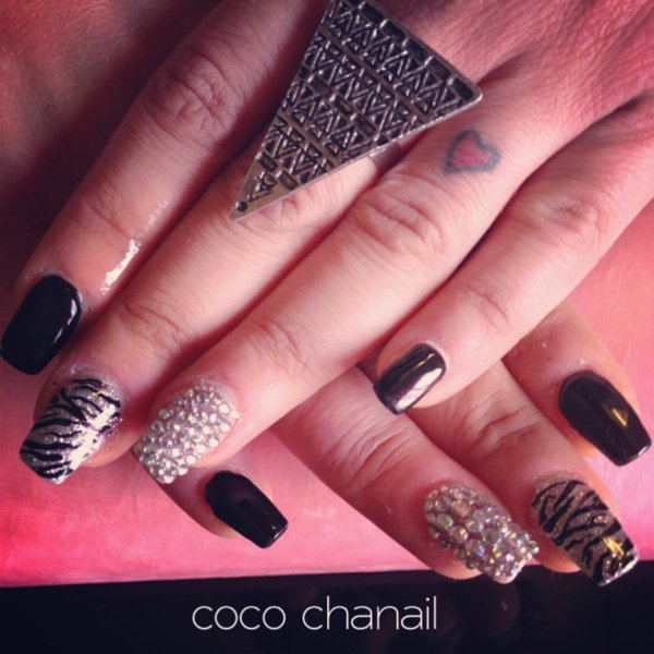 deco ongles hiver 2015