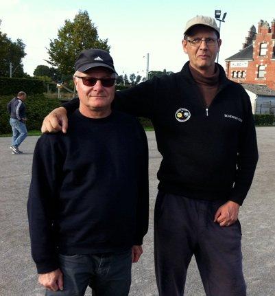 Grand Prix d' Albert : une cinquantaine d' équipes : les joueurs de Ribemont :