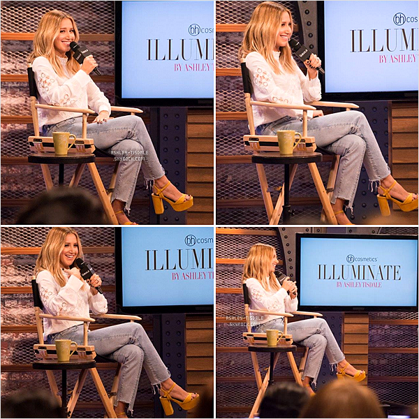 "* 19.08.16 -""Nouvelles photos  d'Ashley lors de son interview pour Aol Build le 31 Mai dernier.   *"