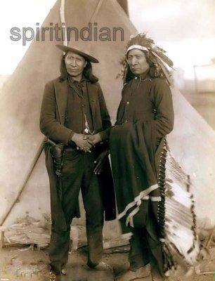 MAKH-PIYA-LU-TA (1822-1909) CHEFS SIOUX: Red Cloud