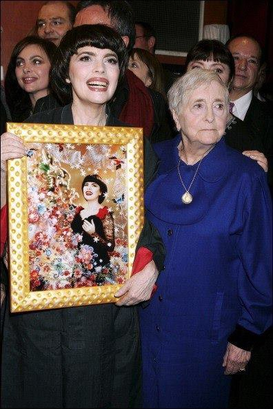 Histoire d'une �uvre : Pierre & Gilles, Fleur de Shanga� (Mireille Mathieu), 2005