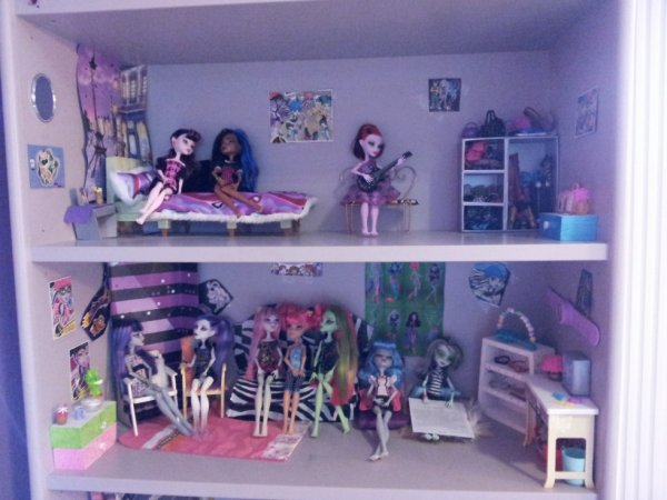 d co maison monster high. Black Bedroom Furniture Sets. Home Design Ideas