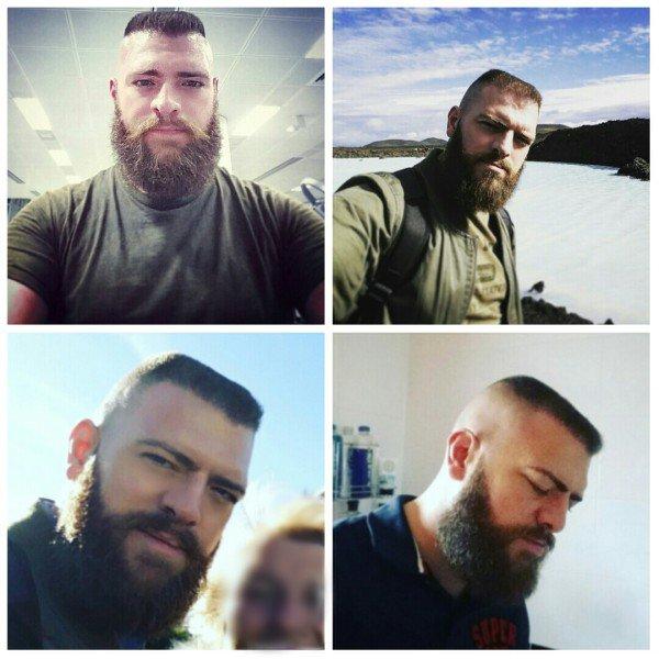 Brosse et barbe