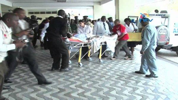 School bus crash horor (Kisii, Kenya)