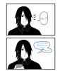 Sasuke et son portable