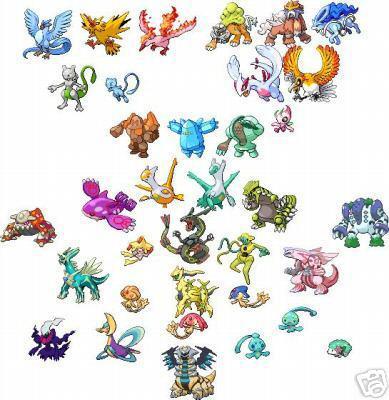 Blog de pokemonversion page 7 pokemonversion - Pokemon legendaire platine ...