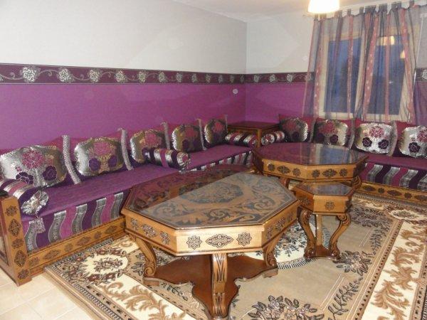 Salon marocain andalous 100 oriental for Salon oriental marocain