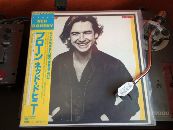 "NED DOHENY ""prone"" LP¨ Original JAP  (1ere et seconde edition).......TERRIBLE!!!!"