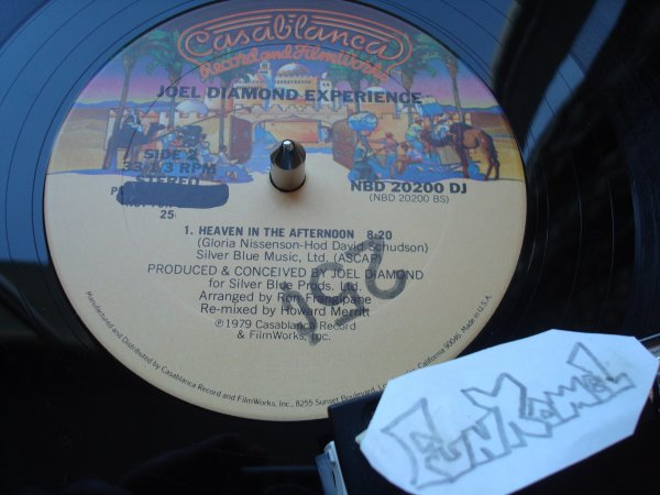 """LEW KIRTON """"heaven in the afternoon"""" 12""""....MONSTRUEUX!!!!..../ JOEL DIAMOND EXPERIENCE """"heaven in the afternoon"""" 12"""" .....( deux versions).."""