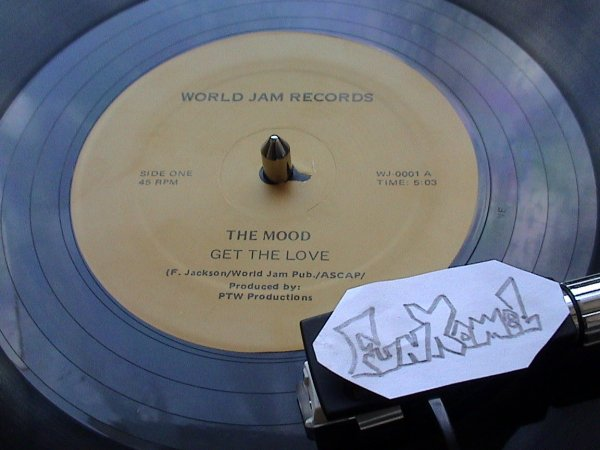 """THE MOOD """"get the love"""".....12""""........BOMBASSE!!!!!"""