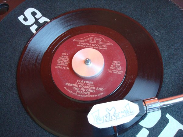 """RONNIE DIAMOND and THE NU OHIO PLAYRS ....7""""...  """"playgirl""""   .................EXCELLENT!!!!"""