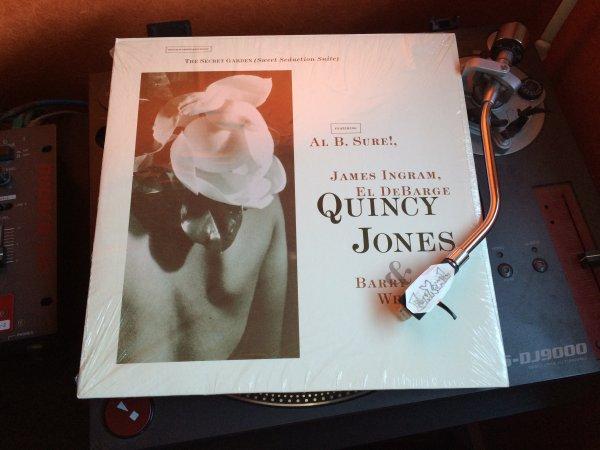 """QUINCY JONES Feat. BARRY WHITE, AL B. SURE, JAMES INGRAM, EL DEBARGE """"secret garden"""" 12"""" .....BOMBASSE!!!!!! ....ET BONNE VACANCES!!!!"""